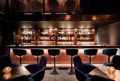 Tom Dixon firma un lounge bar ad Atlanta Lounge Design, Bar Lounge, Restaurant Lounge, Restaurant Design, Copper Restaurant, Luxury Restaurant, Vintage Restaurant, Design Hotel, Tom Dixon