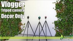 Vlogger tripod camera at Kiwi Sims 4 image 651 Sims 4 Updates Sims 4 Mods, Sims 4 Game Mods, My Sims, Sims Cc, Sims 4 Objects, Maxis, Camera Decor, Play Sims 4, Sims 4 Traits