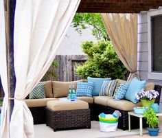 Staging Your Outdoor Living Spaces