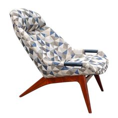 1950's Modern Lounge Chair After Grant Featherston | From a unique collection of antique and modern lounge chairs at https://www.1stdibs.com/furniture/seating/lounge-chairs/