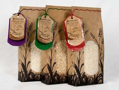 rice packaging - elizabeth vornbrock