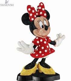 SOLDOUT 2013 Swarovski Crystal Limited Edition Disney Pointiage Minnie Mouse  | the Disney Collectionary