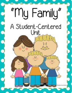 """<3 My Family ~ A Student Centered Unit (NEW DOWNLOAD) <3 Included: Writing/Art """"My Family"""", Acrostic Poem, Word Search, Family Traditions Cards, Venn Diagram and more!   Download Club members can download @ http://www.christianhomeschoolhub.com/pt/All-about-Me---Learning-about-Self--Family/wiki.htm Not a Download Club member? Subscribe @ http://www.christianhomeschoolhub.com/?page=base&cmd=signup"""