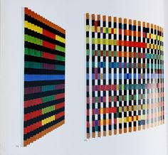 Agamograph by Yaacov Agam (book via Ellen Van Dusen/Sight Unseen).
