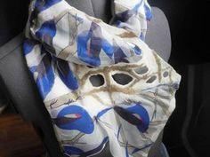 Раздвигаем «границы»: префельт — еще один способ удлинить шарфик из короткого куска шелка - Ярмарка Мастеров - ручная работа, handmade