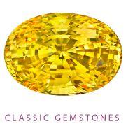 2012 AGTA Cutting Edge Award Winner: Classic Gemstone - 1st Place:  Allen Kleiman  A. Kleiman & Co.  San Francisco, CA  30.04 ct. unheated oval yellow Sapphire.