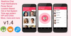 AroundMe - More than a complete Dating App (Android) Parse Server by Angopapo AroundMe, Meet, and chat with people near you, See who visited your profile, Hot or not game build in, Integrated Chat with Images, realtime chat, Credits and VIP subscriptions, Realtime Messaging, Online ago system, Push notifica