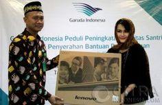 CSR Garuda Indonesia ke Pondok Pesantren