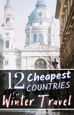 Here is the most extensive list of the cheapest places to travel in Europe in winter. Guide to enchanting countries, cities, villages and mountain ranges travel 12 Cheapest Places to Travel in Europe in Winter - Let Magic Happen Best Winter Destinations, Bucket List Destinations, Europe Destinations, Places In Europe, Honeymoon Destinations, Cheap Places To Travel, Cool Places To Visit, Backpacking Europe, Travel Guides