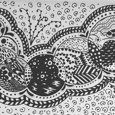 #inktober #pen #carefordesigning #practice #learning #technique #fun #zen #project #ideas #patterns