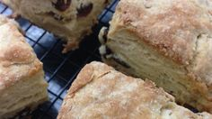 These delicious scones are perfect for tea time.