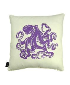 This Purple Octopus Throw Pillow is perfect! #zulilyfinds