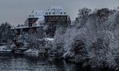 Castello del Valentino - by Valerio Minato pH #neve #snow #inverno