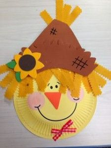 Easy 30 Diy Scarecrow Craft Ideas for Your Kid Creativity Autumn Crafts, Fall Crafts For Kids, Toddler Crafts, Kids Crafts, Art For Kids, Craft Projects, Craft Ideas, Autumn Art Ideas For Kids, Diy Ideas