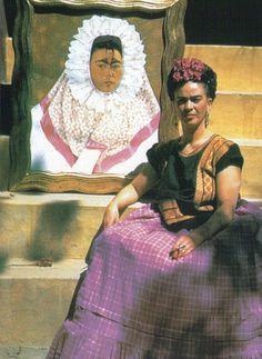 "Frida Kahlo ""Me pinto a mí misma porque soy a quien mejor conozco"""