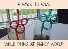 5 Ways to Save While Dining at Disney World on Very Smart Saver http://www.verysmartsaver.com
