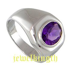 ring with a punch of purple
