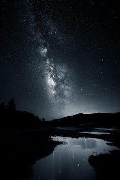 Sky Art ~ Follow The Starglow by Michael Shainblum