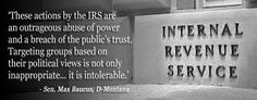 The IRS and our constitution.