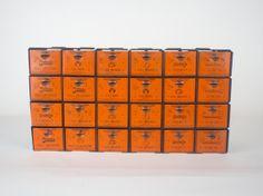Industrial Cabinet / Vintage Dorman Industrial Metal by sevenbc, $225.00
