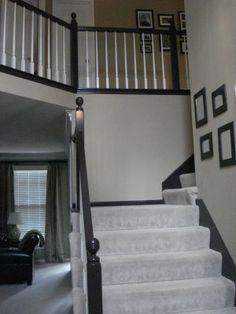 Anything Pretty: How-To: Transform a Staircase on the Cheap