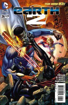The Black Superman  es el Superman de Tierra 23,