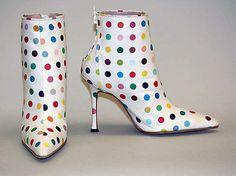 Dot Boot. Damian Hirst. 2002