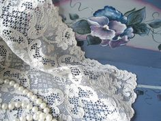 Doily Needlework Mat Needlepoint Bobbin Lace by mailordervintage