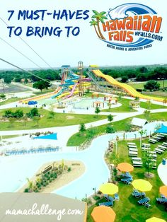 7 Must Haves to bring to the Waterpark!