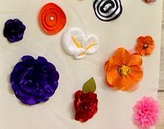 Arte Brasil | Flores em Fuxico - Yvone Lobato