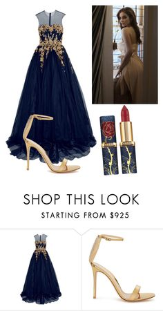 """Untitled #720"" by patry-15-99 on Polyvore featuring Reem Acra and Gianvito Rossi"