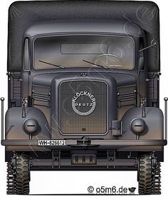 "Engines of the Wehrmacht - ""Magirus A3000"", 3-ton, 4x4, Cargo Truck"