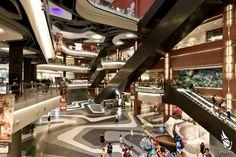 Iluma Mall - Interior, Bugis Singapore