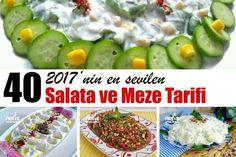 2017'nin En Değişik Kolay ve Doyurucu 40 Salata Tarifi - Nefis Yemek Tarifleri