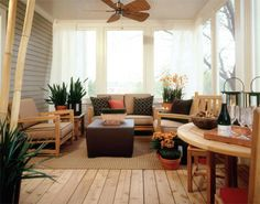Porch with Gray Neutral Color