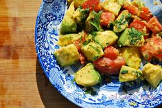 Meatless Monday: Avocado Salad - A Girl's Kitchen