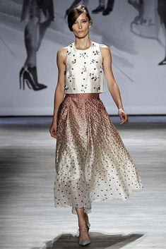Lela Rose Spring 2015 Ready-to-Wear