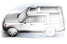 Land Rover LR3 high profile