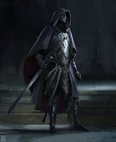 Assassin Sketch - by John J Park, Brainstorm School on ArtStation at https://www.artstation.com/artwork/assassin-sketch-by-john-j-park
