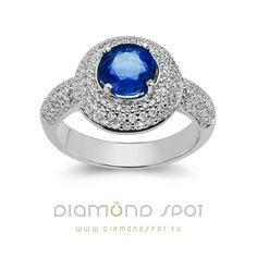 Safiri - Nakit sa safirima i dijamantima - Zlatara Diamond Spot, Beograd Heart Ring, Sapphire, Engagement Rings, Jewelry, Diamond, Enagement Rings, Wedding Rings, Jewlery, Jewerly