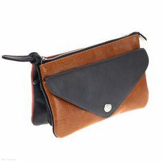 Madison Cross Body Bag (Charcoal/Orange) - Wallets - Purses - Handbags - Jenn Louise