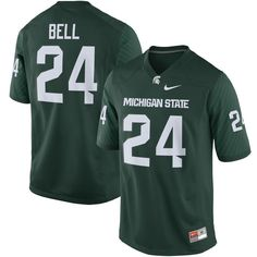 Le'Veon Bell Michigan State Spartans Nike Alumni Football Game Jersey - Green