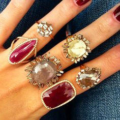 Suzanne Kalan-More Rubies & Diamonds #yesplease