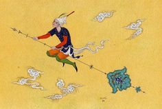 مینیاتور Miniature by Reza Mahdavi #Iran