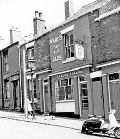 Albion Tavern (Harry Rollinson licensee), No. Sheffield Pubs, Old Pub, Industrial Architecture, Pub Signs, Old Street, Old London, Street Photography, Old Things, England