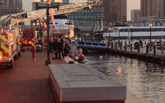 Emergency Crews at Inner Harbor Water Rescue Wednesday Morning - WBFF Fox Baltimore - Top Stories