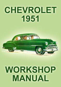 chevrolet 216 cu in 6 cylinder engine 1949 1952 overhaul manual rh pinterest com Service Chevrolet 2005 Chevy Truck Repair Manual