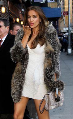 i want fake-fur coat like this one