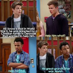 """""""Girl Meets the Great Lady of New York"""" (this episode made me cry, I felt bad for Farkle) Cory And Shawn, Cory And Topanga, Old Disney, Disney Love, Disney Ideas, Disney Stuff, Boy Meets Girl, Girl Meets World, Funny Disney Memes"""
