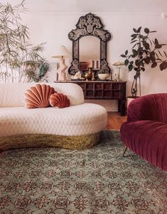 Clean Living Rooms, Home And Living, Eclectic Wallpaper, Interior And Exterior, Interior Design, Bohemian Room, Dream Apartment, New Room, Decoration